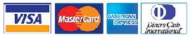 מכבדים כרטיסי אשראי ויזה מסטרכאד, אמריקן אקספרק ודיינרס