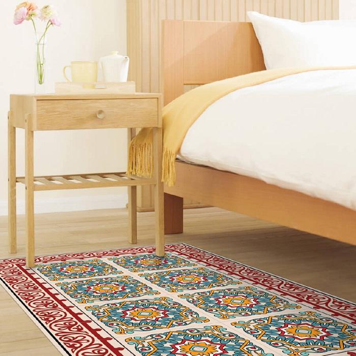 שטיח PVC ברצלונה אדום