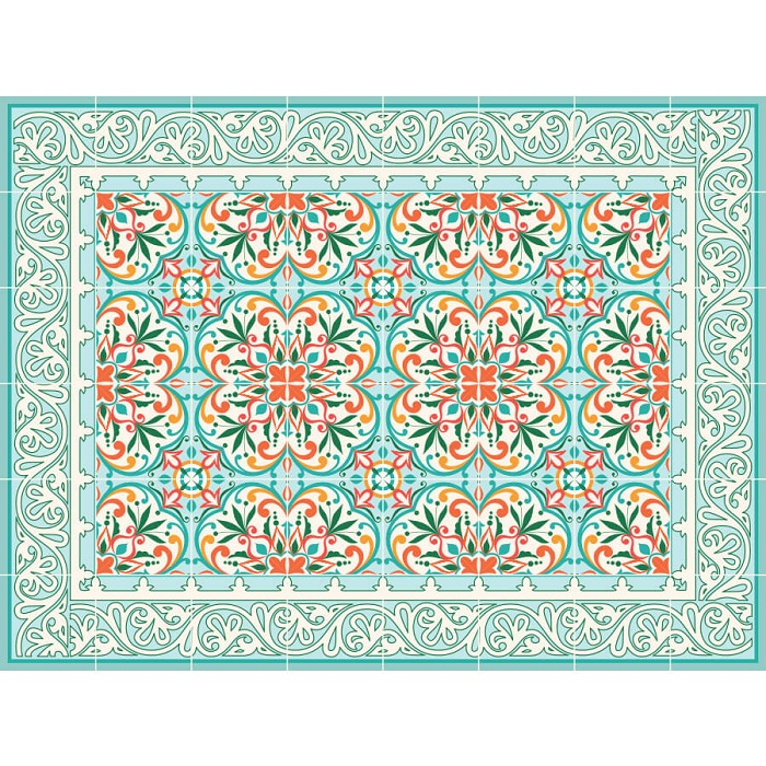 שטיח PVC בוסתן ספרדי