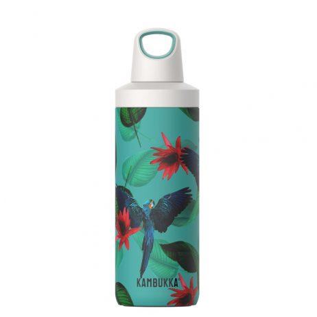 בקבוק שתייה תרמי מעוצב עם מכסה TWIST LID מסדרת Reno Insulated דגם Parrots